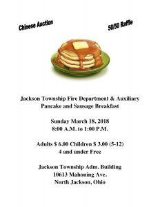 Pancake Breakfast @ Jackson Township Building